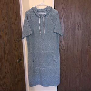 Sonoma | T Shirt Dress | Green Burnout | Size XL